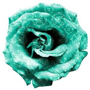 teal roses turquoise png by mysticemma on deviantart