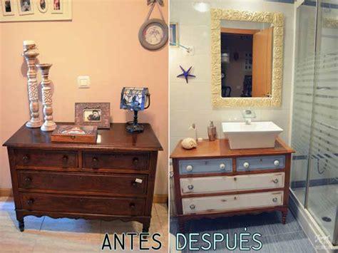 cómo tener un fantástico baño ikea mueble con un gasto mínimo transformar una cómoda en un mueble de lavabo