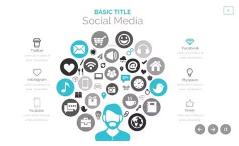 social media powerpoint template 15 free social media presentation powerpoint templates ginva