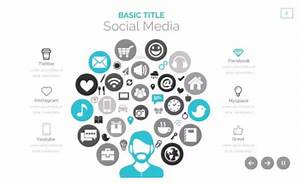 social media powerpoint template free download the With social media powerpoint template free download