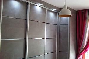 Porte Dressing Sur Mesure : porte de placard design id es de ~ Premium-room.com Idées de Décoration