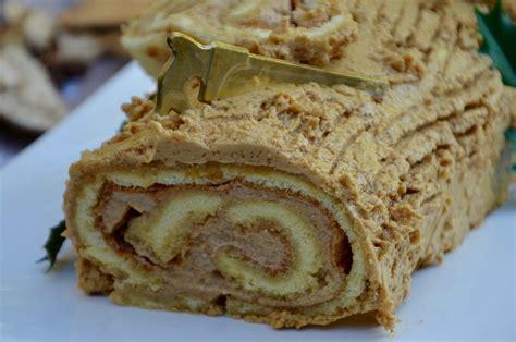 hervé cuisine buche marron bûche roulée à la crème de marron et au café la p 39 tite