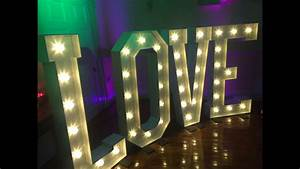 hollywood led letters giant light up letters hire With led letter a