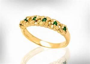 18k emerald wedding band emerald wedding ring for women may With emerald wedding rings for women