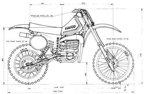 1980- Maico Drawing