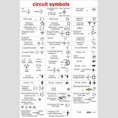 Electronic Circuit, Componnent Data, Lesson And Etc… Circuit Symbols