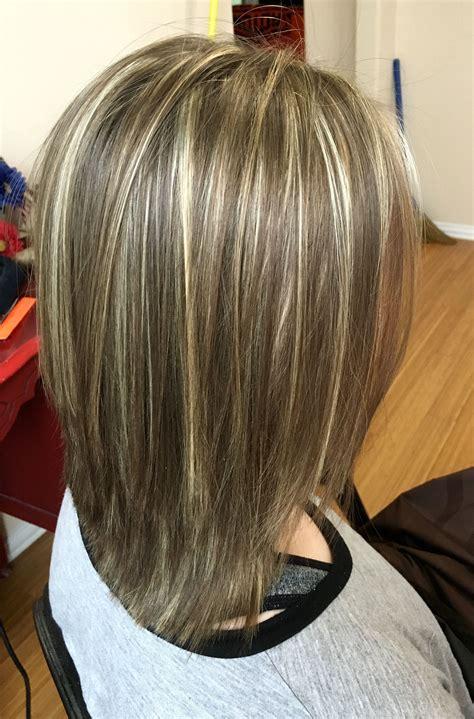 Highlights and lowlights | Medium short hair, Pretty ...