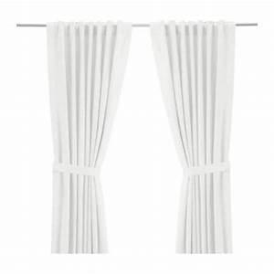 Gardinen Stopper Ikea : ritva curtains with tie backs 1 pair 57x118 ikea ~ Watch28wear.com Haus und Dekorationen