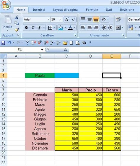 Usa Exle by Excel Easy Excel Facile Come Si Usa Cercaorizz In Excel