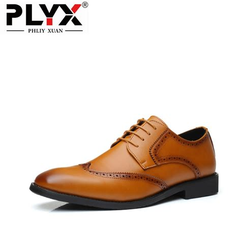 Phliy Xuan New Fashion Mens Dress Shoes American