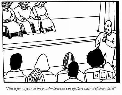 Education Cartoon Audience Panels Panel Debate Funny