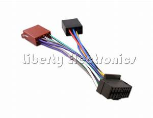 Sony Car Radio Stereo 16 Pin Wiring Harness Loom Iso