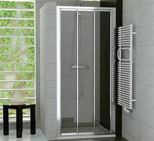 Duschtür 80 Cm : nischent r schiebet r 3 teilig echtglas oder kunststoff ~ Michelbontemps.com Haus und Dekorationen