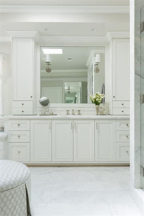 Bathroom Shaker Cabinets by Bathroom Features White Shaker Cabinets Adorned
