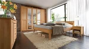 Komplett Schlafzimmer Aus Massiver Buche Triest I BETTENde