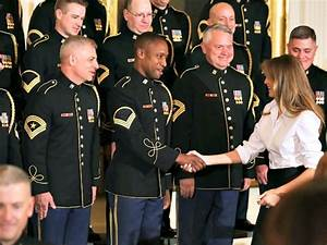 Trump and First Lady Celebrate Mother's Day with Military ...