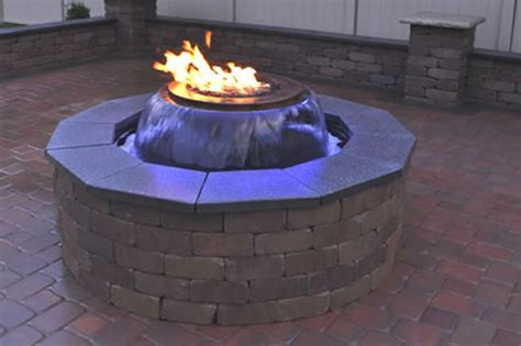 Evolution 360 Gas Fire Pit With Water Feature Deep Cabinets Kitchen Cabinet Knobs Install Depth Refrigerator Reviews Metal Gun Garage Cheap E File Under Microwave With Vent