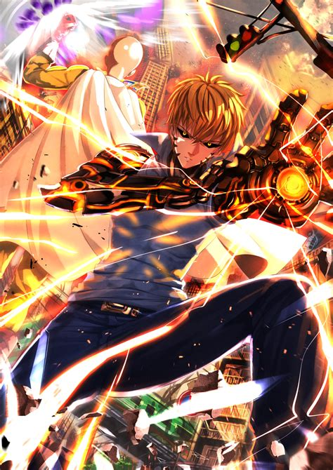 One Punch Man Genos Wallpapers HD / Desktop and Mobile
