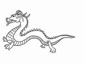 chinese new year animals coloring pages - free printable chinese dragon coloring pages for kids