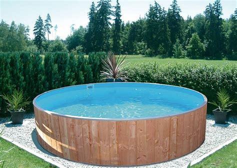 Mit Rundpool by Rundpool Swimming Aus Holz Holzverkleidung