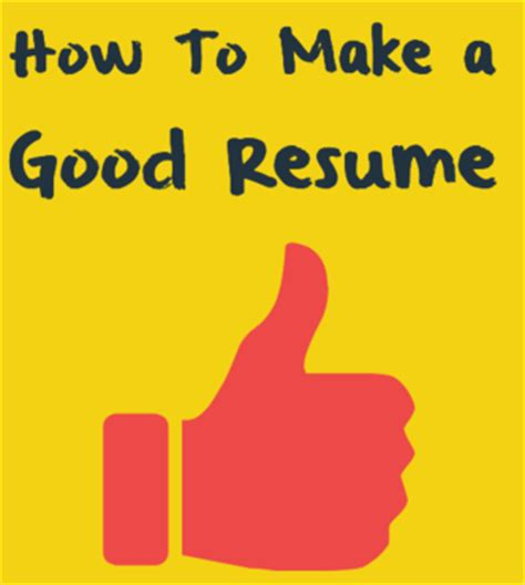 Make Resume And Save It by How To Make A Resume A Resume Texty Cafe