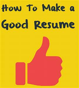 Functional Chronological Resume How To Make A Resume A Good Resume Texty Cafe