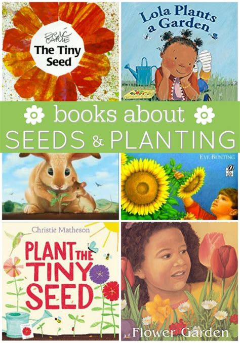 books about seeds and plant cycles pre k pages 515 | Books About Seeds and Planting for Preschool