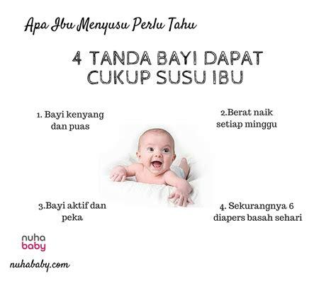 Masalah Pada Kehamilan 4 Bulan 4 Tanda Bayi Dapat Cukup Susu Ibu Nuhababy