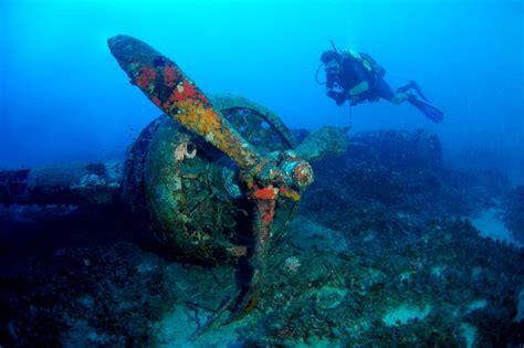 Gozo Dive wreck blenheim bomber atlantis gozo