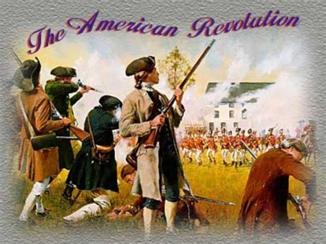 American Revolution War Background