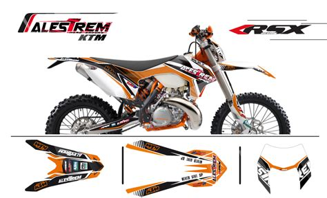 kit deco 125 exc graphic kit ktm 125 exc titan