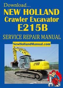 New Holland Crawler Excavator E215b Service Manual Pdf