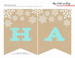 FREE Christmas Party Printables from Three Little Monkeys ...