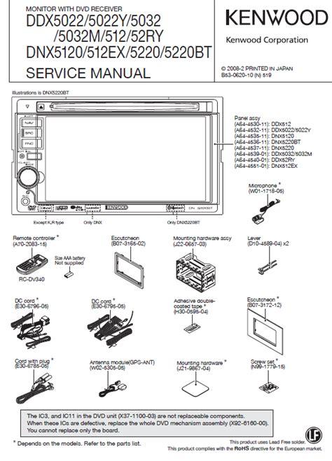 Kenwood Ddx Service Manual Pdf Download