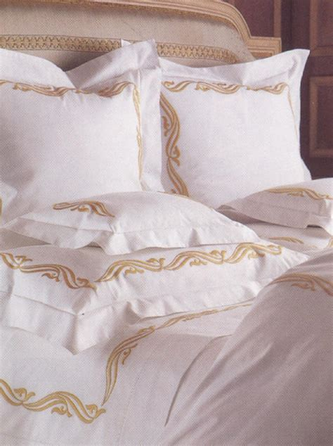 Bed Embroidered Linen  Embroidery Designs