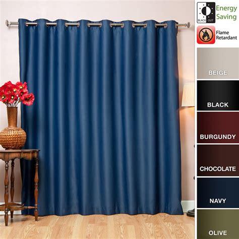 wide width retardant grommet style 84 inch blackout