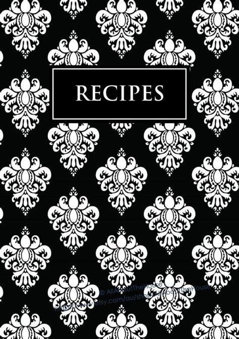 editable recipe binder printables recipe sheet recipe card
