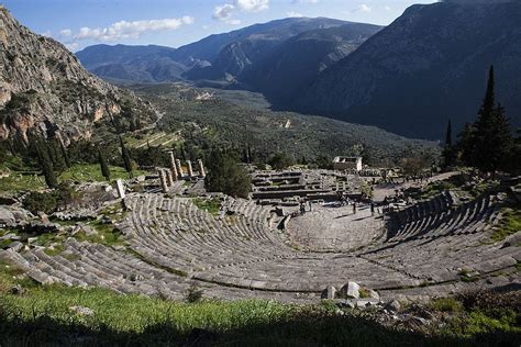 #PatrimonioUnesco l Delfi: l'ombelico del mondo antico