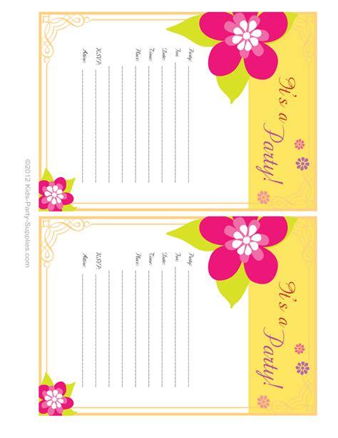 invitations to print free hawaiian party invitations free printable pool party
