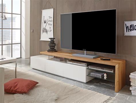 tv board weiß eiche lowboard 204x40x44cm wei 223 eiche tv board tv m 246 bel tv schrank wohnzimmer alessa i ebay