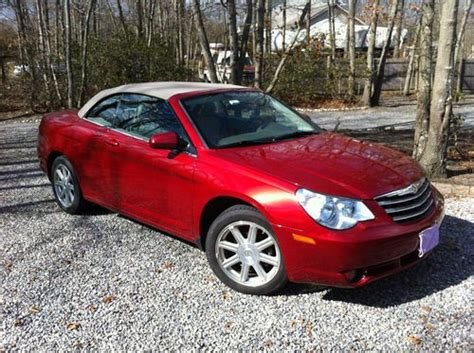 airbag deployment 2009 chrysler sebring engine control buy used 2009 chrysler sebring convertible touring in tuckerton new jersey united states for