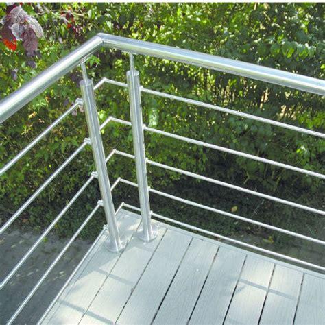 garde corps inox pour palier escalier ou balcon deck 233 a