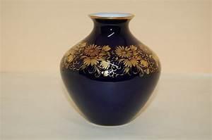 Echt Kobalt Vase : vase 11 cm echt kobalt gold 45301 hutschenreuther cm ~ Michelbontemps.com Haus und Dekorationen