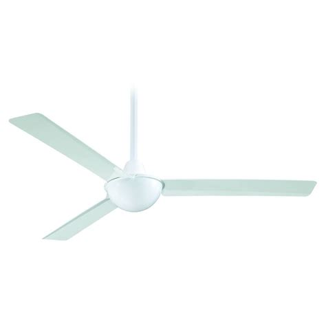 contemporary white ceiling fan modern ceiling fan without light in white finish ebay