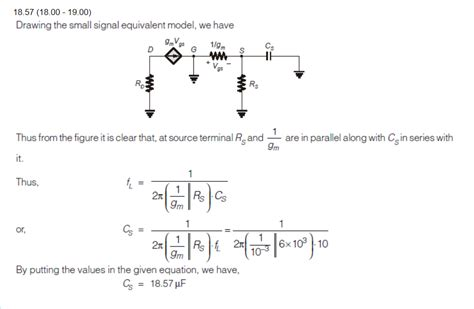 Analog Mos Amplifier Circuit Lower Frequency