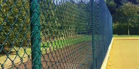 corrie green chainlink fencing