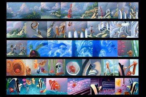 finding nemo concept art images  pinterest