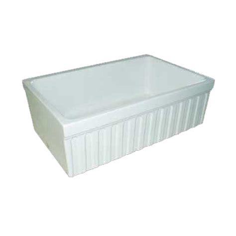 30 apron front sink white whitehaus collection quatro alcove reversible farmhaus