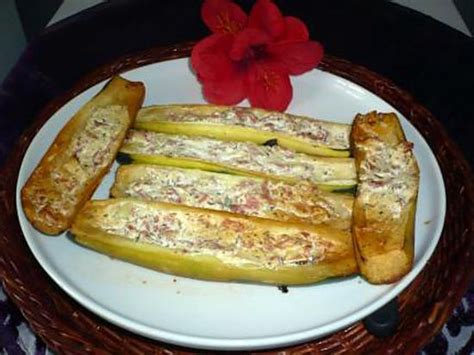 boursin cuisine ail et fines herbes recette de courgettes bacon boursin ail et fines herbes