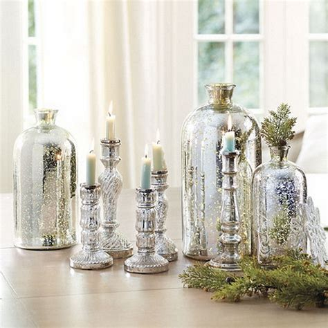 glamorous and affordable mercury glass decor for special